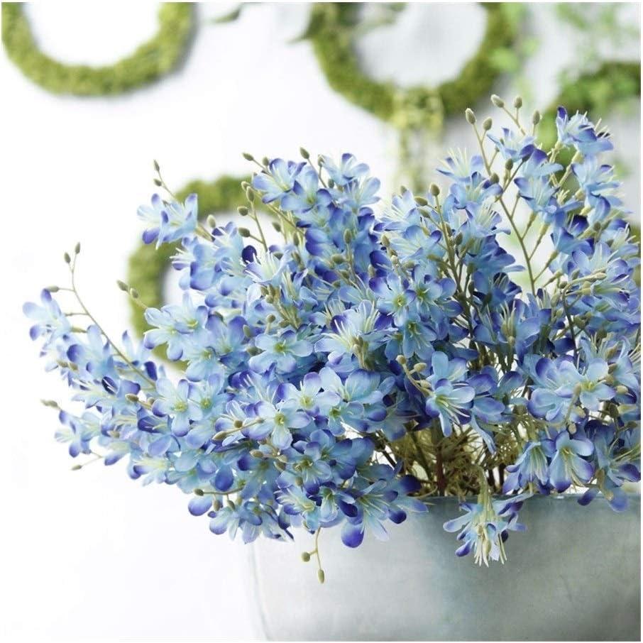 HAODA Dedication Artificial Plants 3 Heads Plant Simulation Sales Flower Eryngium