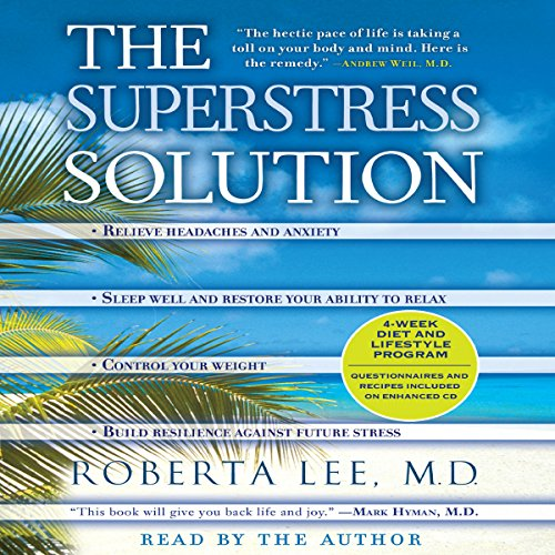 The SuperStress Solution audiobook cover art