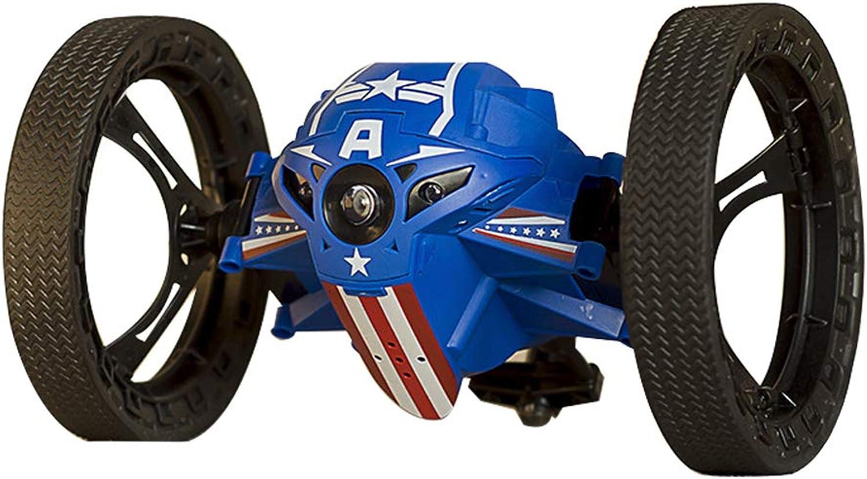 bienvenido a comprar Desconocido Generic Generic Generic RH803A Mini Jump 2.4GHz RC Coche with Flexible Wheels rojoation LED Light Robot Juguetes Gifts azul  precio razonable