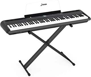 LAGRIMA LAG-560 Full Size Weighted Key Portable Digital Pian