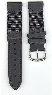 Victorinox Swiss Army Brand 19mm-Nylon / Leather-Black
