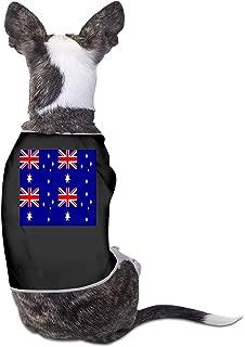 LNUO-2 Pet Shirt, Australia Flag Dog Cat Tee Tanks Vest