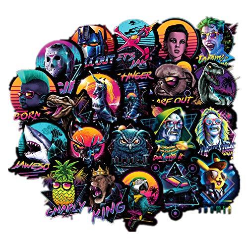 100 Pegatinas De Graffiti De Tormenta Oscura, Pegatinas Personalizadas Geniales Para Patinetas De Motocicletas, Pegatinas Impermeables