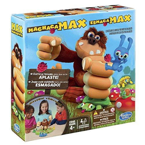 Hasbro Gaming- MAX Juego de Mesa, 26.7 x 26.4 x 8.4 (B2266)