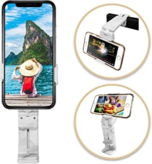 MAGIPEA Mobile Phone Holder & Stand - Universal Cell Phone Mount with 360 Degree Rotation | Adjustable Travel Phone Stand Clamp - for iPhone & Android
