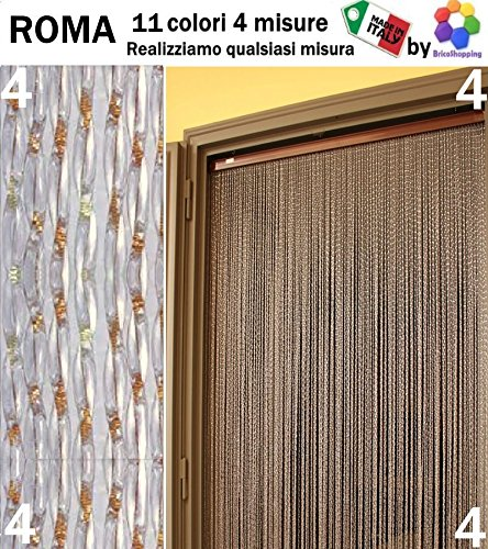 Cortina moschiera Mosquitera PVC Roma 11 colores 4 tamaños Made in Italy by bricoshopping
