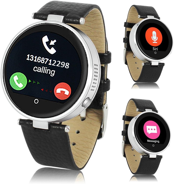 Indigi Blautooth Smart Watch Herzfrequenz Monitor Fitness Tracker IOS Android Groartiges  Geschenk