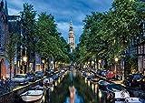 CHUTD Puzzle 1000 Piezas Rompecabezas Puzzle Rompecabezas Amsterdam Canal Bosque Planta Animal Paisaje océano niños y Adultos Puzzle Game para