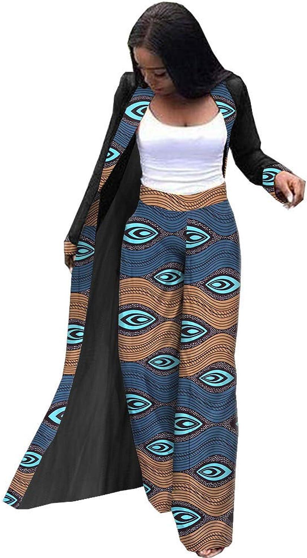 Afripride African Clothes Two Piece Pants Set for Women Wax Ankara Print Batik Cotton A1926006