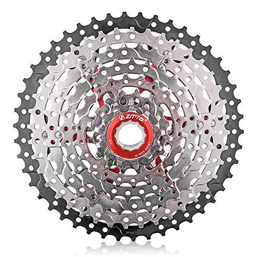 Lepeuxi MTB 8 Speed 11-46T Cassette Freewheel Piezas de Bicicleta de montaña