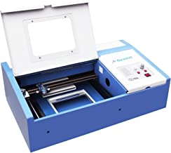Laser Cutter-SUNCOO K40 Laser Engraver DIY Engraving Machine for Wood, Glass, Acrylic 40W CO2 with Air Exhaust Fan USB Port Only for Windows System 12x8 Inch (Blue)