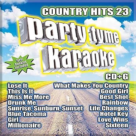 Party Tyme Karaoke - Country Hits 23 16-song G (2019) LEAK ALBUM