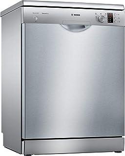 Bosch SMS25AI05E Independiente 12cubiertos A++ lavavajilla - Lavavajillas (Independiente, Acero inoxidable, Tamaño completo (60 cm), Acero inoxidable, Botones, Giratorio, 1,75 m)