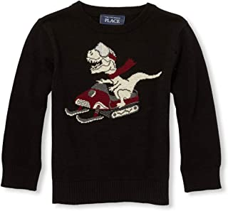 The Children's Place Baby-Boys 2500094 Graphic Sweaters Pullover Sweater