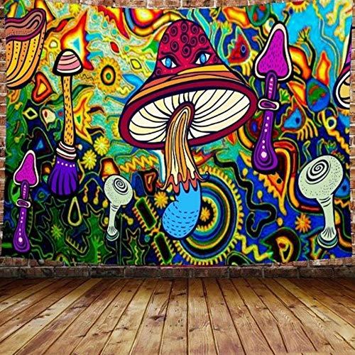 3d impresión psicodélico tapiz de seta hippie colorido arte colgante de pared tapiz (150* 100cm/150* 130cm/200* 150cm)