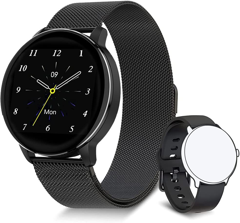 JINPXI Reloj Inteligente para Hombre y Mujer 1.3
