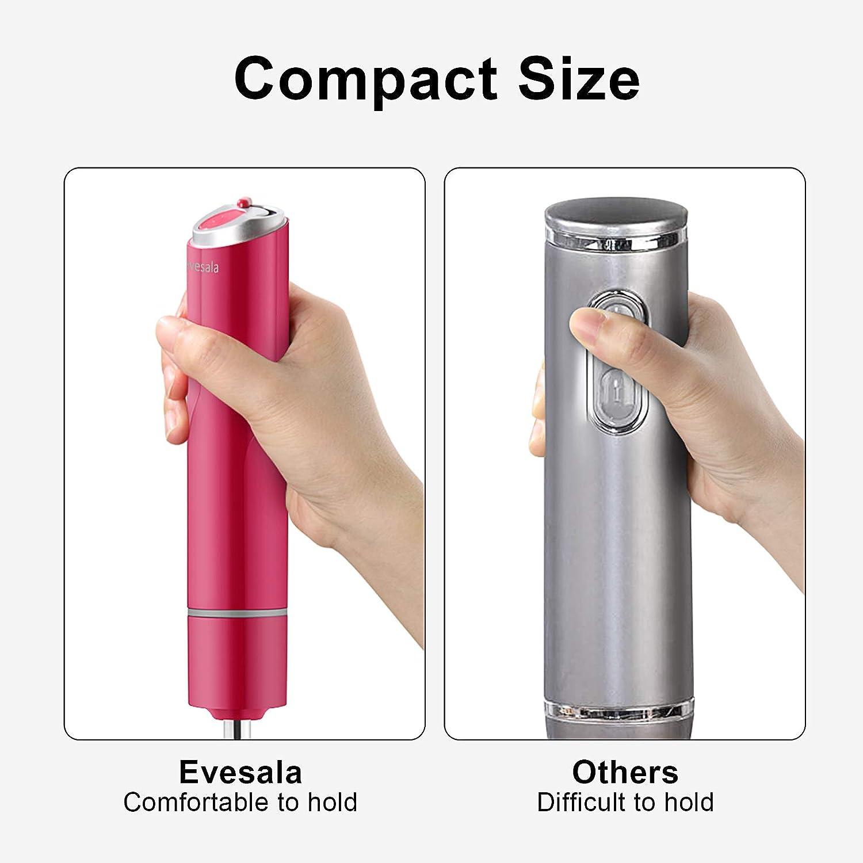 Contr/ôleur de Vitesse Variable,Fonctionnement Silencieux et Design Compact 400W pourM/élanger et Hacher Evesala Mixeur Plongeant
