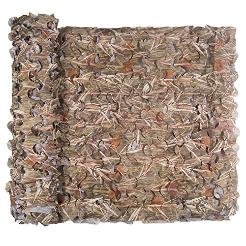 Red de camuflaje, red de camuflaje, exterior, caza, decoración militar, protección solar., Grass, 1.5 × 5 M