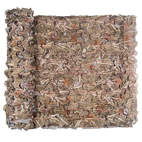 Tarnnetz, Camouflage Net Hunting Outdoor Jagd Militär Dekoration Sonnenschutz (Grass, 1.5 x 2 m)
