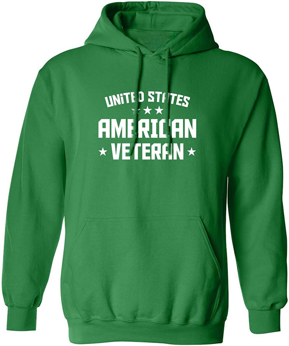 United States American Veteran Adult Hooded Sweatshirt