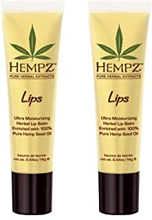 HEMPZ Non SPF Lip Balm Set of 2 .44 oz each
