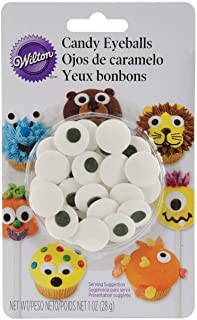 Wilton Candy Eyeballs, Great for Children's Birthday Cakes, and Cupcakes, Make That Dessert or Treat Look Back with Candy ...