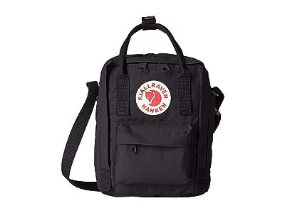 Fjallraven Kanken Sling (Black) Cross Body Handbags