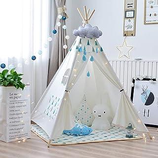 WOHAO Växthus tält barn tampee tält för barn pojkar & flickor – barn-lektält – barn tält indoor – baby tampee tält – spel ...