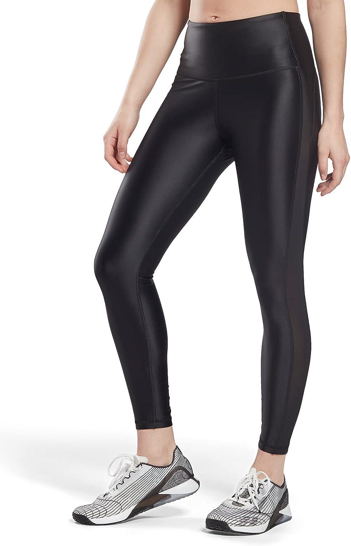 Core 10 NEW before selling by Reebok High-Rise Shiny Women's Leggings mart