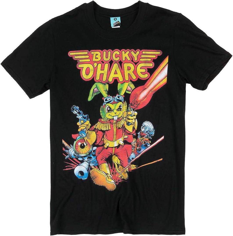 ギフ_包装 購入 Bucky Ohare Black Shirt T