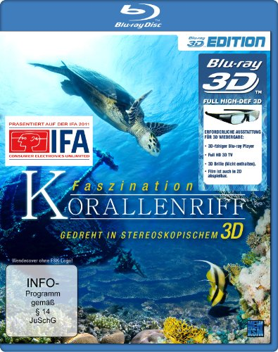 Faszination Korallenriff [3D Blu-ray]
