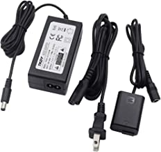 AC-PW20 AC Power Adapter Supply and DC Coupler kit Fully Decoded replacement for NP-FW50 Battery Sony Alpha Sony a3000 a5000 NEX-5 NEX-5A NEX-5C NEX-5H NEX-5K NEX-3 NEX-3A Cameras.