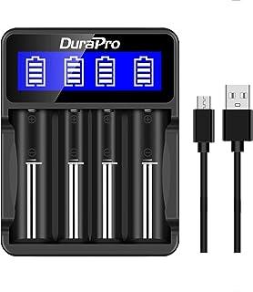 2 PCS 26650 Bater/ía 6800mAh 3.7V 26650 Bater/ías de iones de litio recargables protegidas Celda 26650 Bater/ía para linterna E-tools