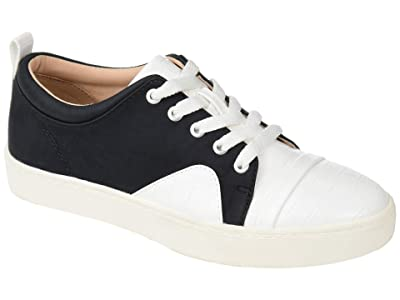 Journee Collection Comfort Foamtm Kyndra Sneakers (Black) Women