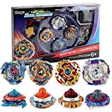 Bey Battle Gyro Burst Battle Evolution Metal Fusion Attack Set with 4D Launcher Grip Set