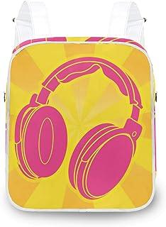 LUPINZ - Mochila de hombro con diseño de auriculares