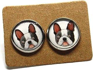 Orecchini Bulldog Francese - Orecchini cane - Regalo amante dei cani