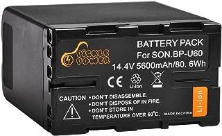 Pickle Power BP-U60 Li-ion Battery Pack for Sony PMW-100 150P 160 MW-200 EX1 EX3 EX260 EX280 EX160 F3 PXW-X180 Camcorder