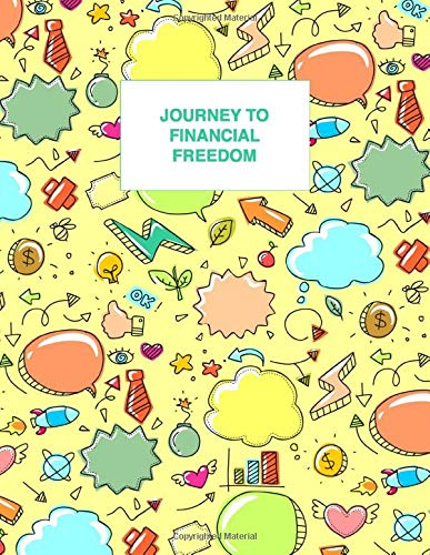 Journey To Financial Freedom | Budget planner journal notebook