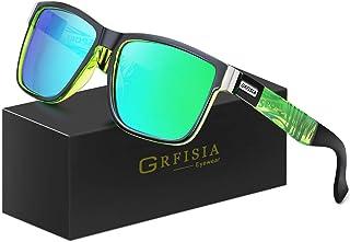 GRFISIA Vintage Polarized Sunglasses for Men and Women...