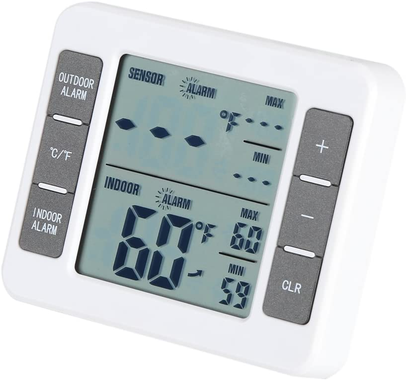 Limited time for free shipping Fridge Thermometer Wireless Digital Challenge the lowest price of Japan Freezer 32~122
