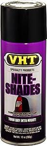 VHT SP999 Nite-Shades Lens Cover Tint Translucent Black Paint Can - 10 oz.