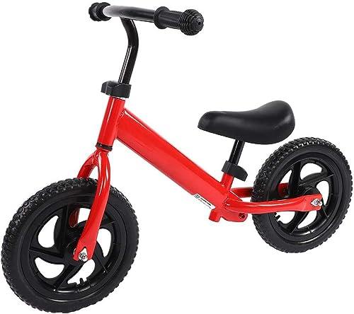 Kinder Walking Bike, Heavy Duty Kids ZWeißder Nicht-Pedal Balance Training Bike Passende H  fürrad für 3-6 Jahre Kinder