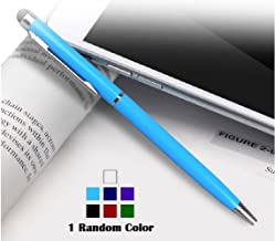 Hyphen Universal Touch Screen Pen, 2 in 1 Stylus, for Smartphones mobiles Tablets - 1 Random Color