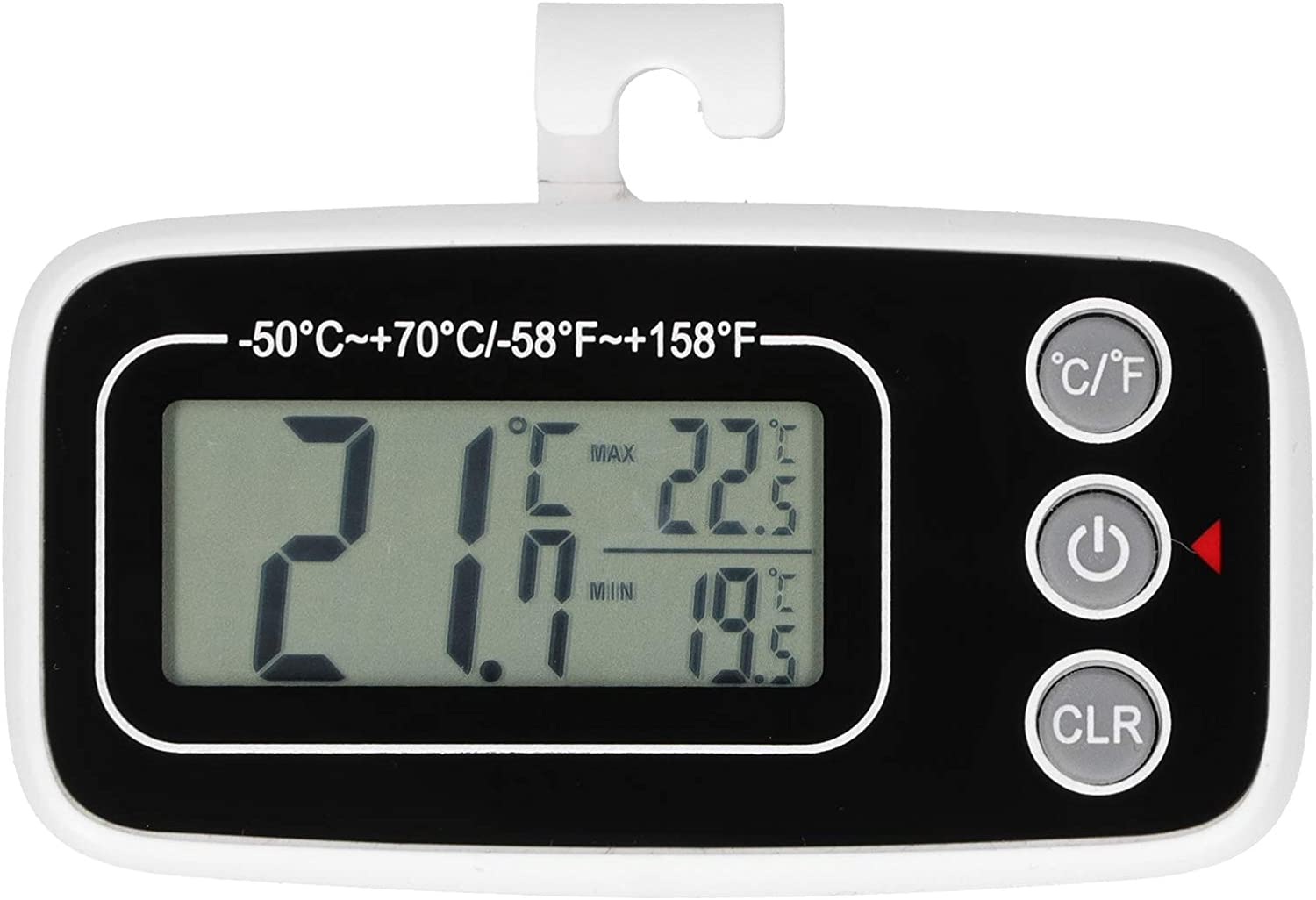 Mini High quality new Household Waterproof Daily bargain sale Refrigerator Temperat with Thermometer