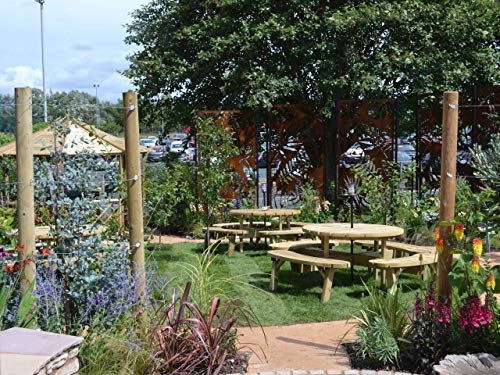 Ein bunter Garten für Zoowärter John