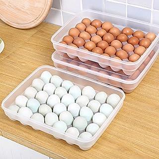 Plastic Duck Egg Storage Box Japanese-Style Large Box Kitchen Crisper Refrigerator Egg Box Put Egg Shelf
