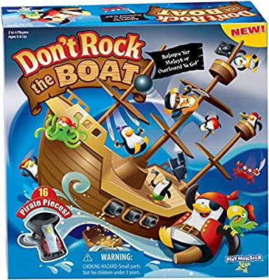 Don't Rock The Boat Skill & Action Balancing Game by PlayMonster LLC