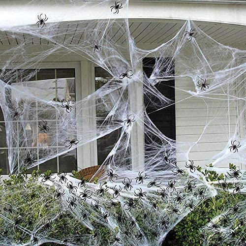 Super-cheap saraha Halloween Spider Web sqft W Special price for a limited time Stretch 330