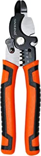 Jinfeng 8 inch Wire Stripper and Wire Cutters,Cable Cutter Multi-function Hand Tool